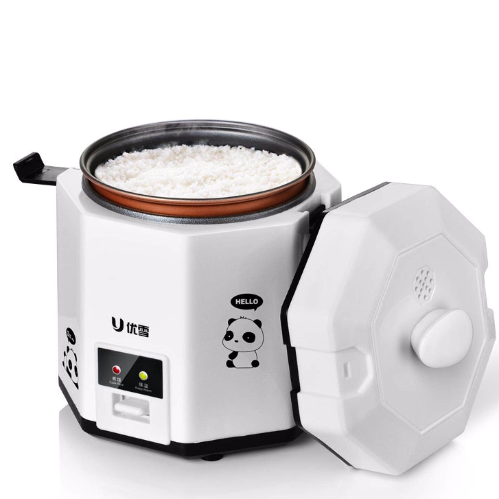 Mini Rice Cooker, Food Steamer, Making Rice, 2-Cup(cooked), 4-Bowls (cooked), Designed For Students Or Single, Simply Small Kitchen Appliances By 555 Girl.