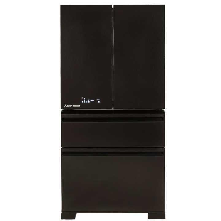 Mitsubishi MR-LX68EM (GBK) LX Grande fridge French door