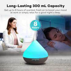 niceEshop Volcano Shape Air Humidifier Diffuser Essential Oil Ultrasonic Purifiers For Office Home Bedroom Living Room Study Yoga Spa (US PLUG)