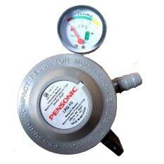 Pensonic Lpg Gas Regulator With Gauge Meter Model 1g