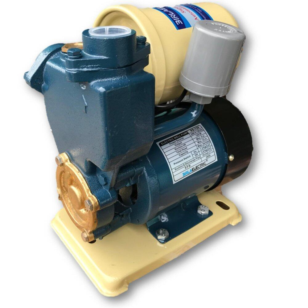 Ps-130 Automatic Self-Priming Peripheral Water Pump By Mytools Marketing.