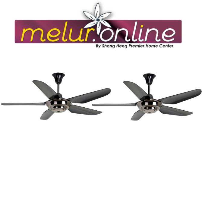 Rubine Decorative Ceiling Fan Rcf Picco202 5b Gm Black Color In Malaysia August 2018 Mybest