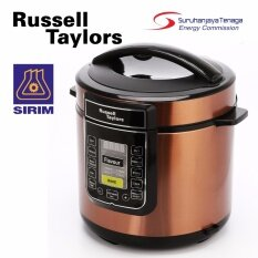 Russell Taylors 6L Electric Pressure Cooker PC-60 with stainless steel pot