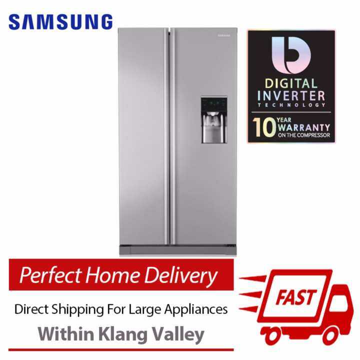Samsung RSA1RTSL1 Side by Side Fridge 566L , Direct Shipping & Free Installation in Klang Valley