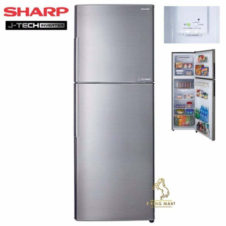 Sharp J Tech Inverter 320litre 2 Door Refrigerator