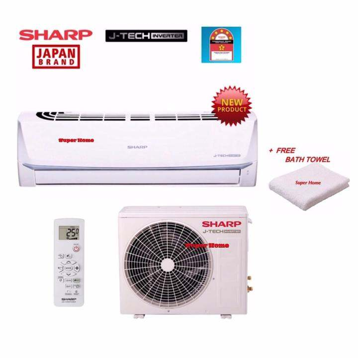 Sharp J-tech Inverter Ahx9ued  U0026 Aux9ued 1 0hp Inverter Split Air Conditioner