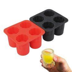 Hình ảnh Shot Glasses Shape Cool Ice Tray Party Supplies random Color