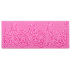 Silicone Fondant Cake Lace Sugar Craft Decorating Mold