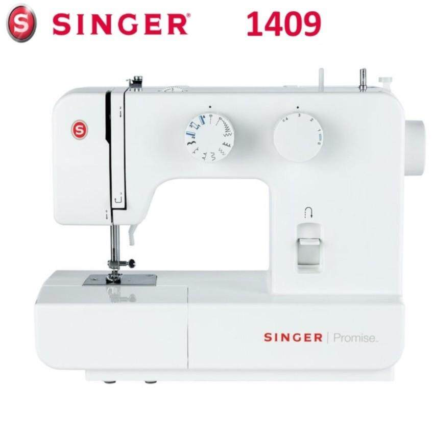 Singer 1409 PROMISE Sewing Machine + Extension Table + 39 color line