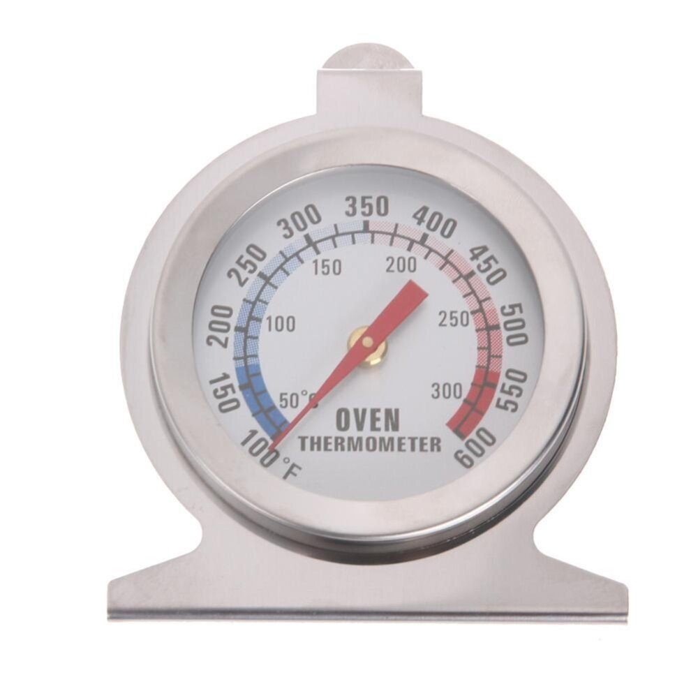Hình ảnh Stainless Steel Temperature Oven Thermometer Gauge Home Kitchen Food Meat Dial - intl