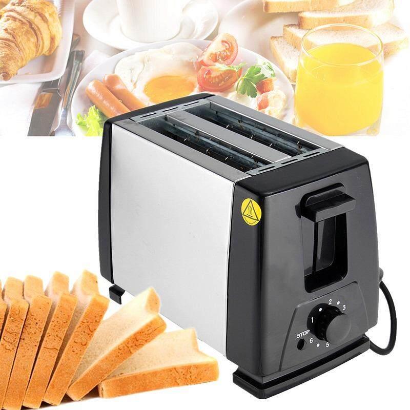 9277d620f5b Stainless Steel304 Bread Toaster 220V Automatic Toasters Toast Cooking Tool  Breakfast Machine EU plug