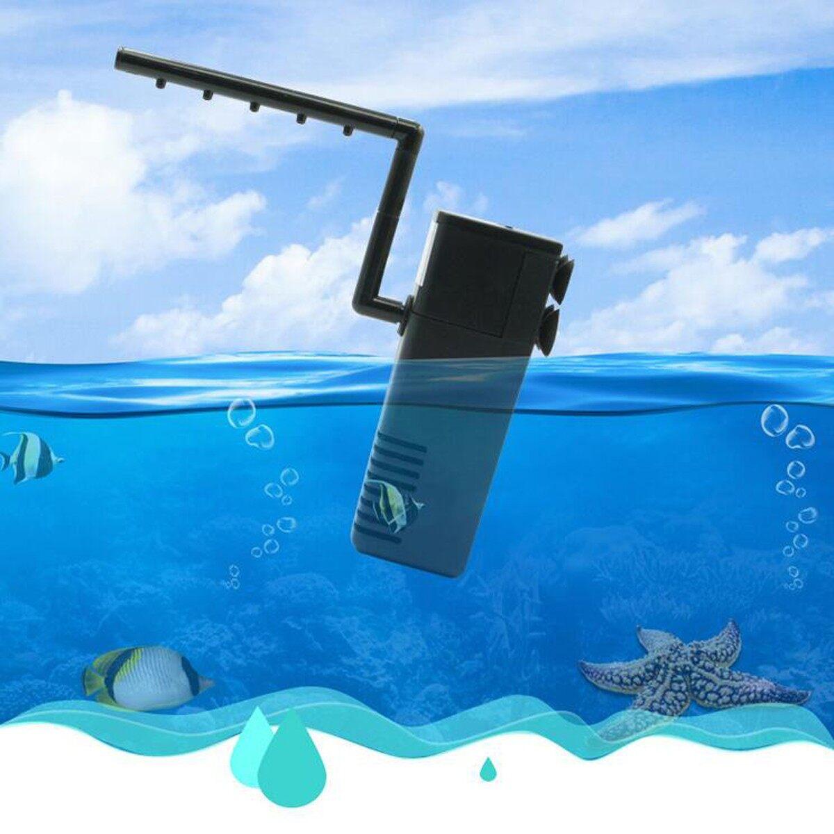 Submersible Aquarium Fish Tank Internal Filter Water Pump Spray Bar HX-188F - intl