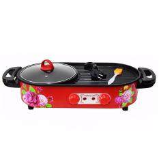 Smart Save Line Universal Multifunctional Electronic Grill Pan With Pot By Smart Save Line