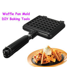 Waffle Pan Press Plate Mold Stove Dessert Pancake Cake Baking Diy Shaper Maker By Su Tong.