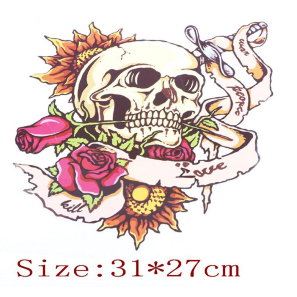 Washable Heat Transfer Iron On Patches For Clothing Romantic Decoration Type:A - intl