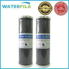 "WATERFILA 10"" CTO Carbon Block Filter Replacement (2PC Per ..."