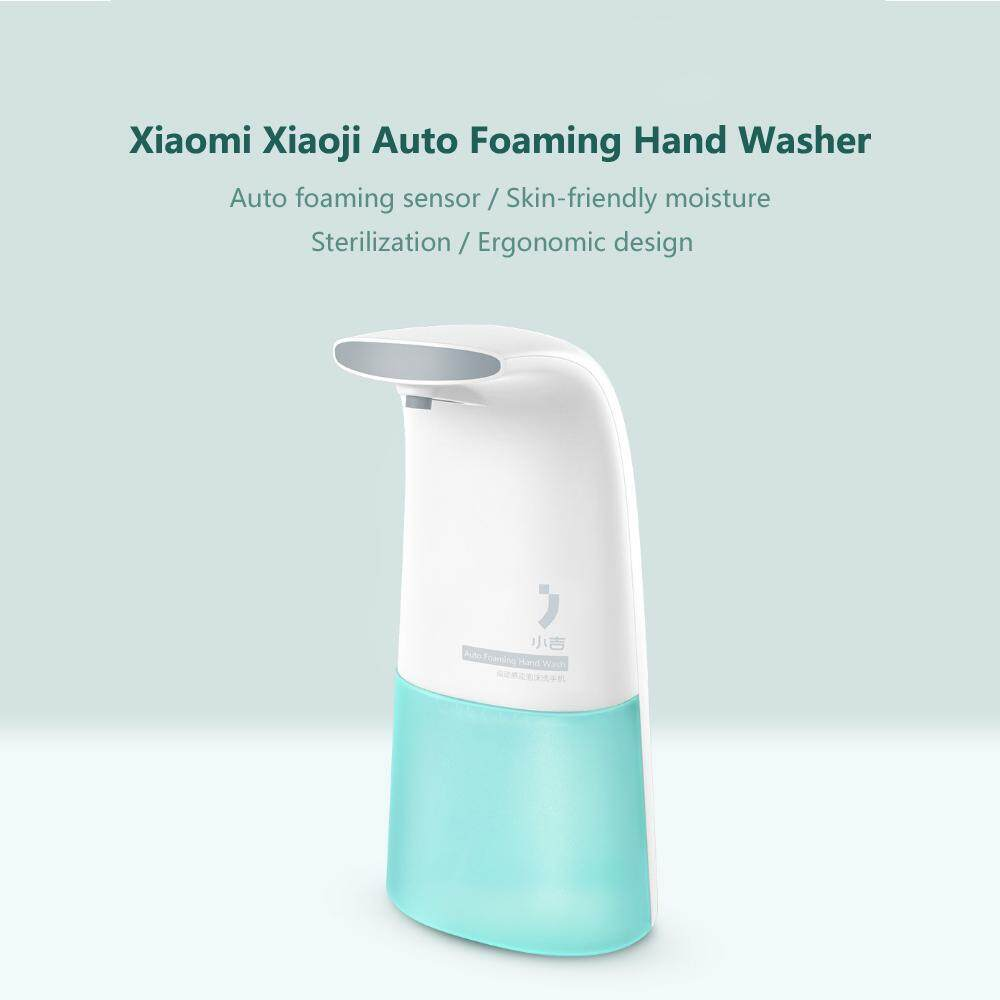 Xiaomi Xiaoji Auto Foaming Hand Washer Skin-friendly Moisture Kitchen Bathroom Bubble Hand Washer Ergonomic Design - intl