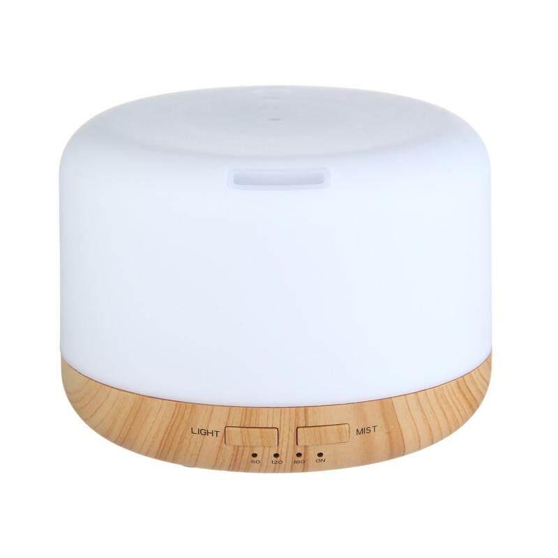 YUESHUNBUHA 400ML Oil Aroma Diffuser Ultrasonic Mist Humidifier LED 7-Color Changing Light (US/CA/JP/BR/MX) - intl Singapore
