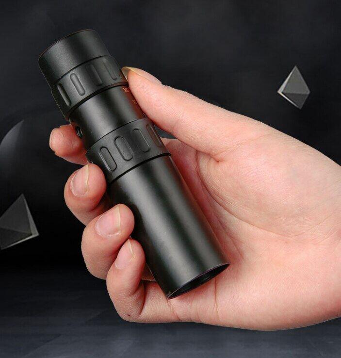 Ống Nhòm Một Mắt HD Chuyên Nghiệp Bằng Kim Loại, Ống Nhòm Một Mắt Zoom Chất Lượng Cao 10-300x40 Kính Thiên Văn Hỗ Trợ Điện Thoại Thông Minh Có Đèn, Tầm Nhìn Ban Đêm