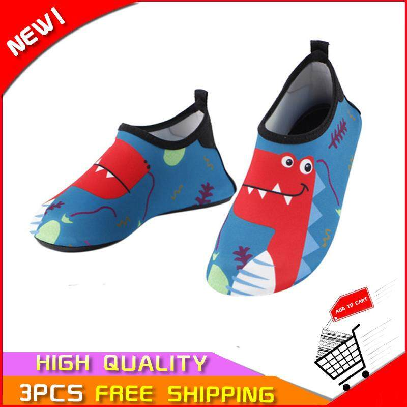 Ocean In Stock Fashion New Childrens Outdoor Cartoon Beach Wading Anti-Skid Anti-Cutting Swimming Snorkeling Shoes By Ocean Shopping Mall.
