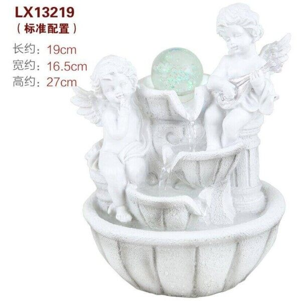 ANGEL WATER FOUNTAIN LX13219 TABLE TOP WATER FEATURES DECORACTION