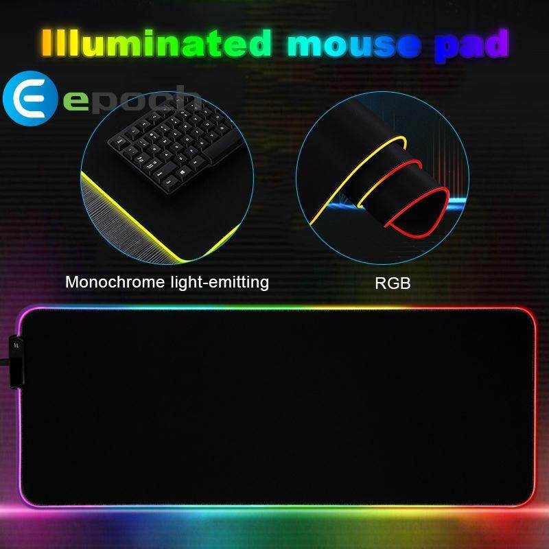 Epoch RGB Mouse Pad Mouse Mat Mice Mat Laptop Home Cushion Extra Large Usb2.0 PVC XL Malaysia