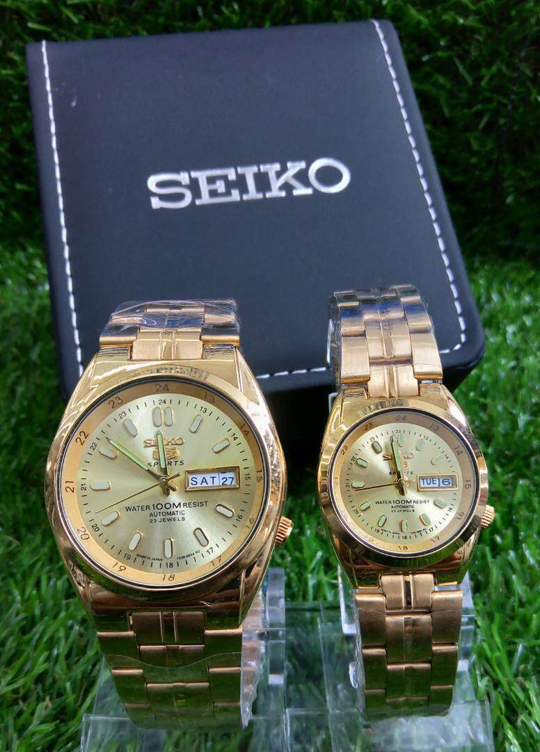 Special Promotion Seik0 5 Analogue Watch For Best Couples By Gardenwatches.