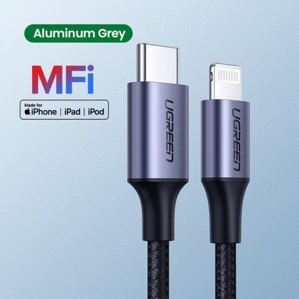 Bảng giá Cáp Chuyển Đổi MFi USB Type C Sang Lightning, Cáp Dữ Liệu Sạc Nhanh USB C Cho iPhone 12 Mini Pro Max 8 PD 18W 20W Cho Macbook Pro Phong Vũ