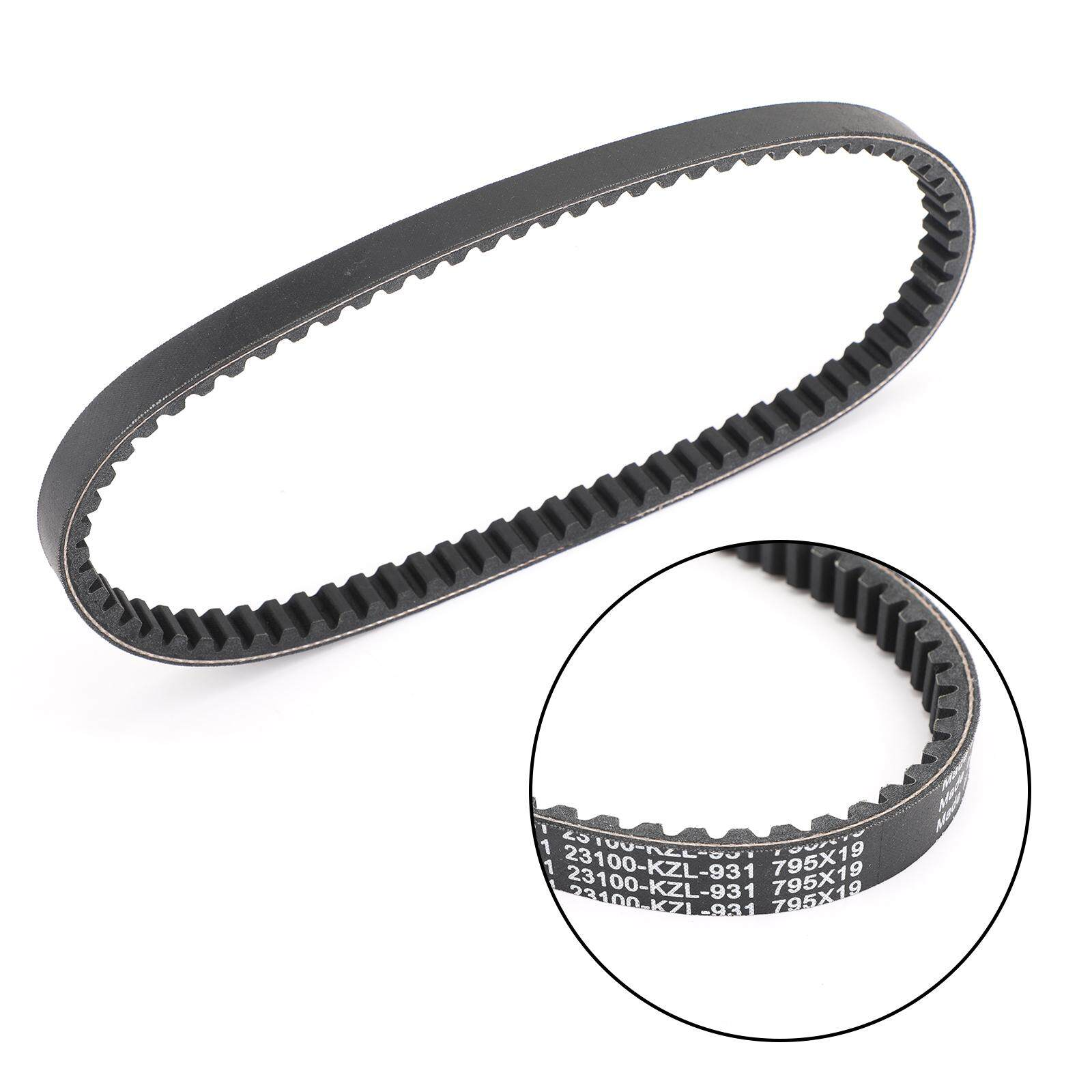 Areyourshop Drive Belt 795OCx19W For Honda Vision NSC110 NSC 110 2012-2018  P/N 23100-KZL-931