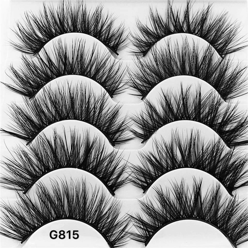 3d Eyelash Imitation Mink Natural Thick False Eyelash 5 Pairs By Lemononstore.