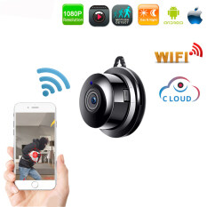 Caseme Wireless Mini IP Camera 1080P HD IR Night Vision WIFI Micro Camera Home Security surveillance WiFi Baby Monitor Camera