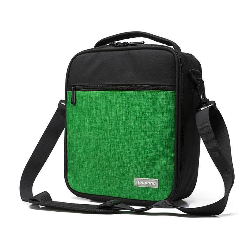 9b30699551d7 Oxford Cloth Insulated Lunch Bag Food Shoulder Bag Reusable Thermal Thick  Lunch Tote Bags for Women Men Kids Portable Cooler Bag