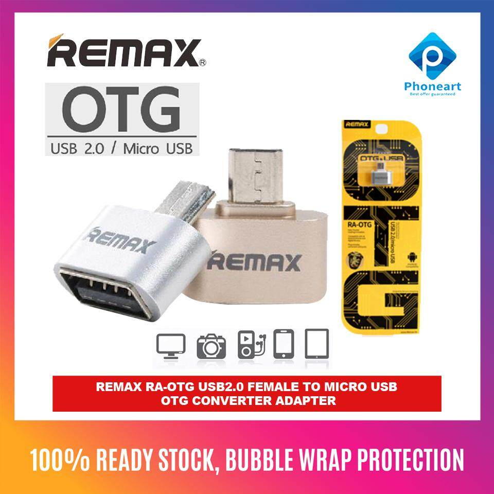 Remax OTG USB to Micro USB Converter Adapter