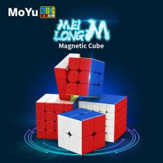 Khối Rubik ma thuật meilong Nhiều màu Qiyi, khối vuông màu trơn