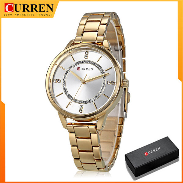 CURREN Eegant Women Watches Top Brand Luxury Broken diamond Quartz Watch Fashion Casual Ladies Dress Clock Wristwatch 9006 Malaysia