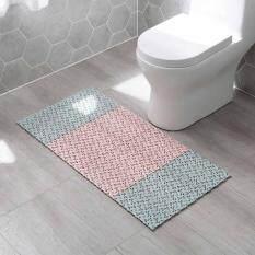 Homenhome Phòng Tắm Mat 1 cái TỰ LÀM Sàn Nhà Vệ Sinh Phân Vùng Miếng Lót 25×25 cm