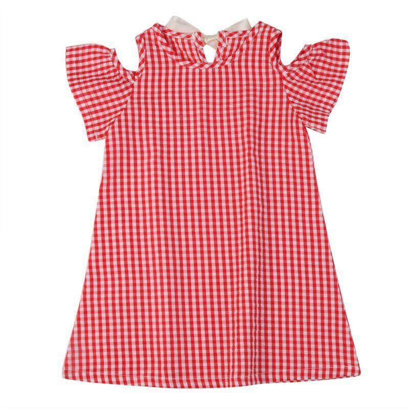 Baby Girl Summer Flare Short Sleeve Striped Dress Hot Kid Children Mini Princess Korean Fashion Thin Clothing Dress Vestidos By Babyqt.