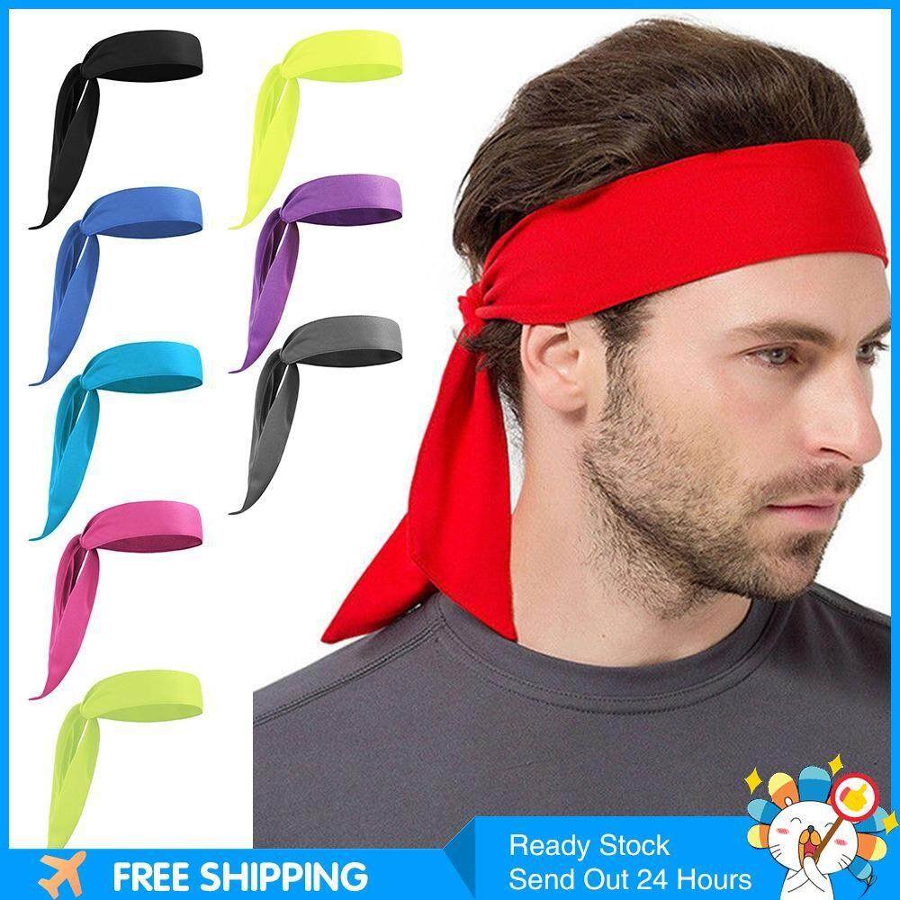 EASYGOING Head Tie Sports Headband Tie Headband for Running Working Out Tennis Basketball Karate Athletics Pirate Costumes