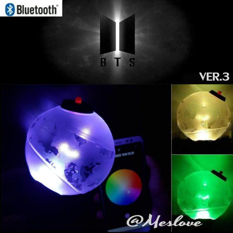 BTS 3 The third generationKpop bangtan boys bts concert OFFICIAL VER 3  Light sticks Glow(Can link to Bluetooth APP)