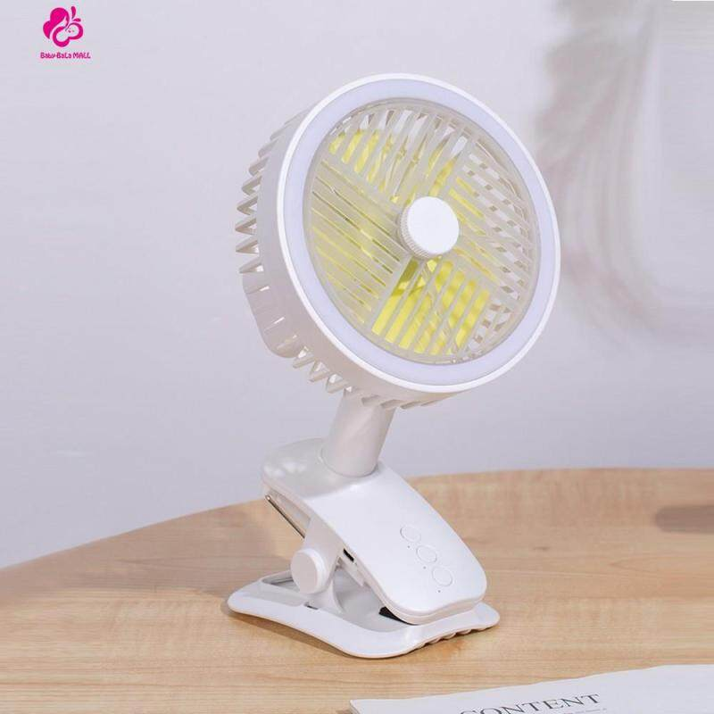 Baby-Bala Baby Car Fans, Adjustable Direction USB Clip Fan Desk Fan Portable Mini Fan Singapore