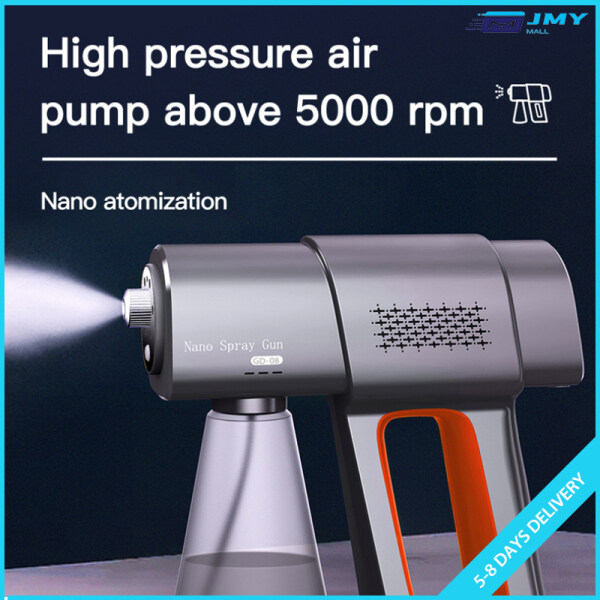 Wireless Handheld Portable Disinfection Sprayer Mechine Air Purification Humidifier with 380ml Bottle