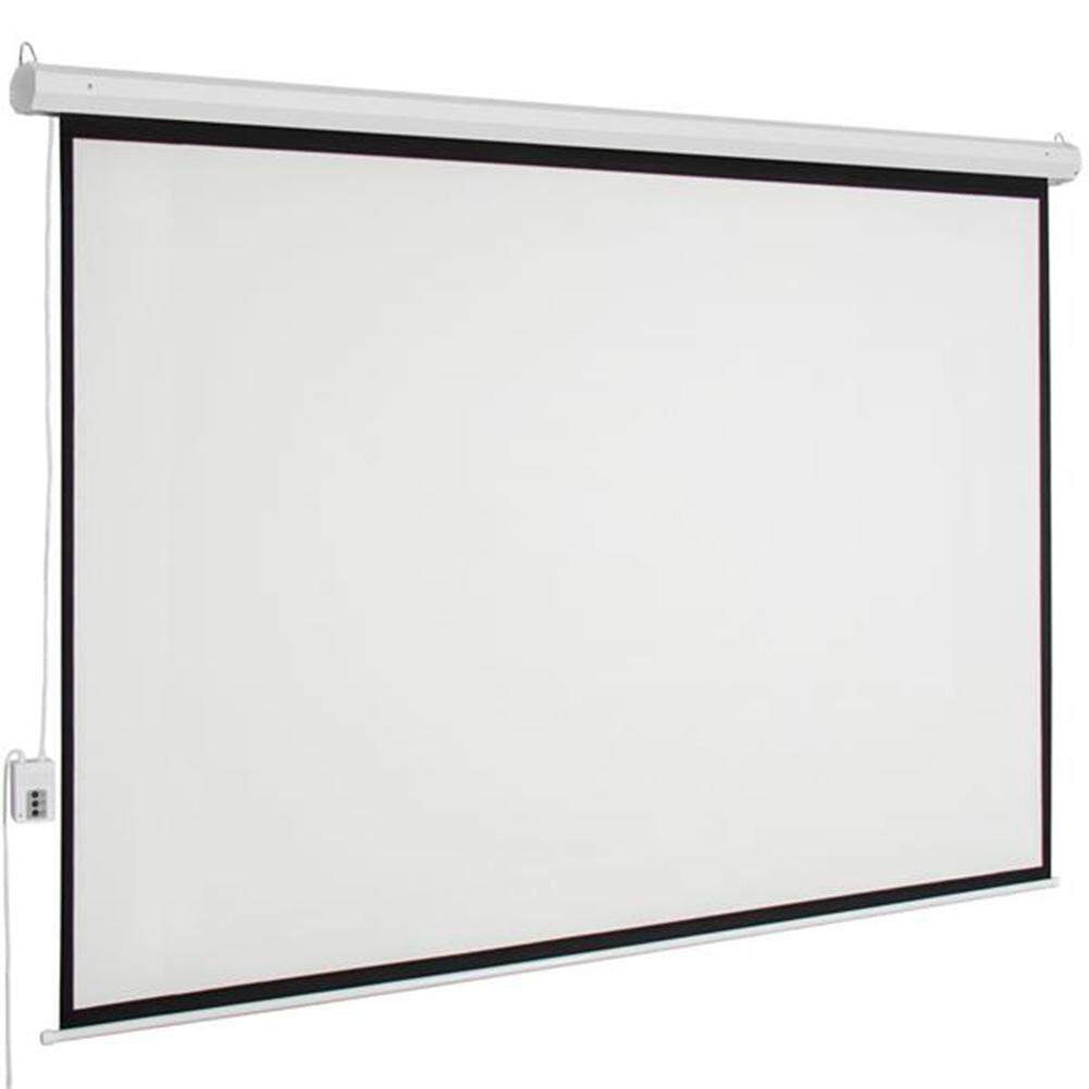 KTE-100 Inch Manual Projector Screen For Home Cinemas Business Schools Offices