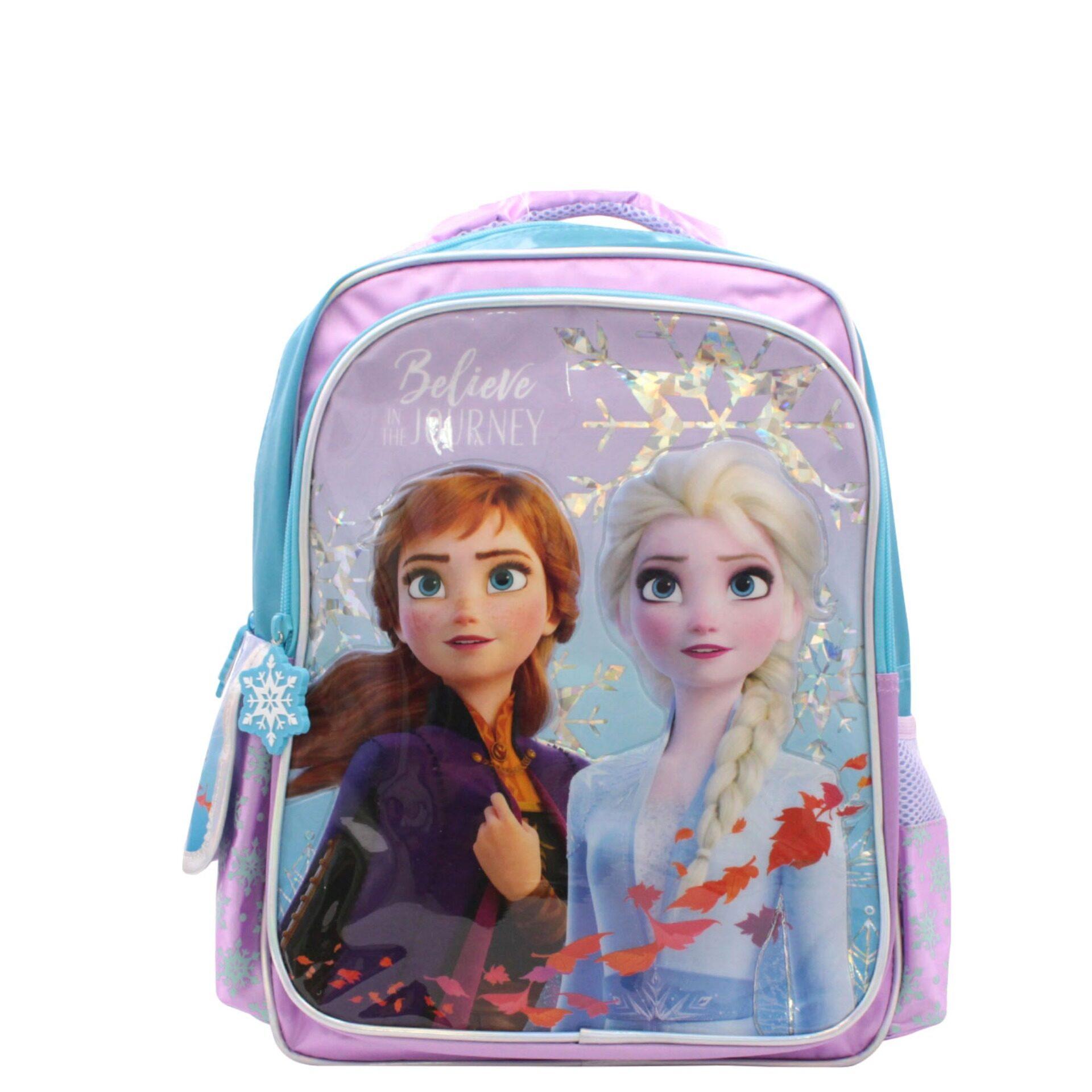 "DISNEY FROZEN ANNA ELSA OLAF BACKPACK GIRLS 16/"" SCHOOL BACKPACK NWT!"