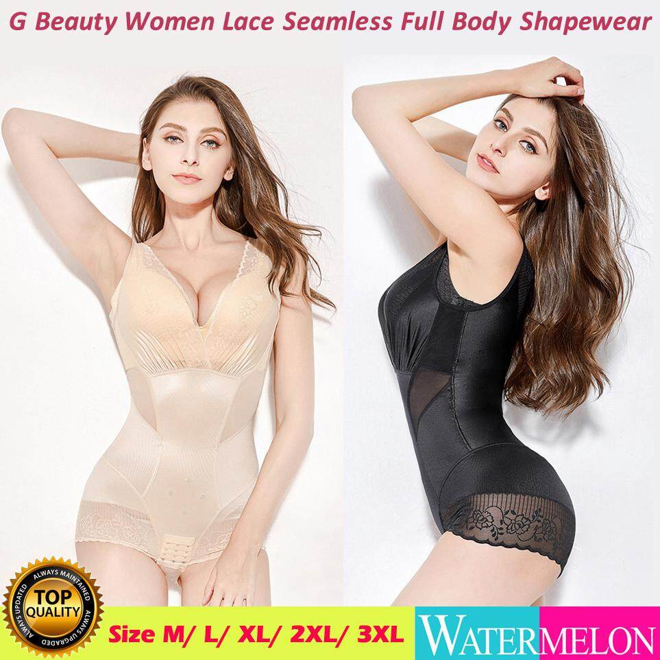 Seamless Underbust Lace Body Shaper Tight Shapewear Slim Bodysuit Women Corset