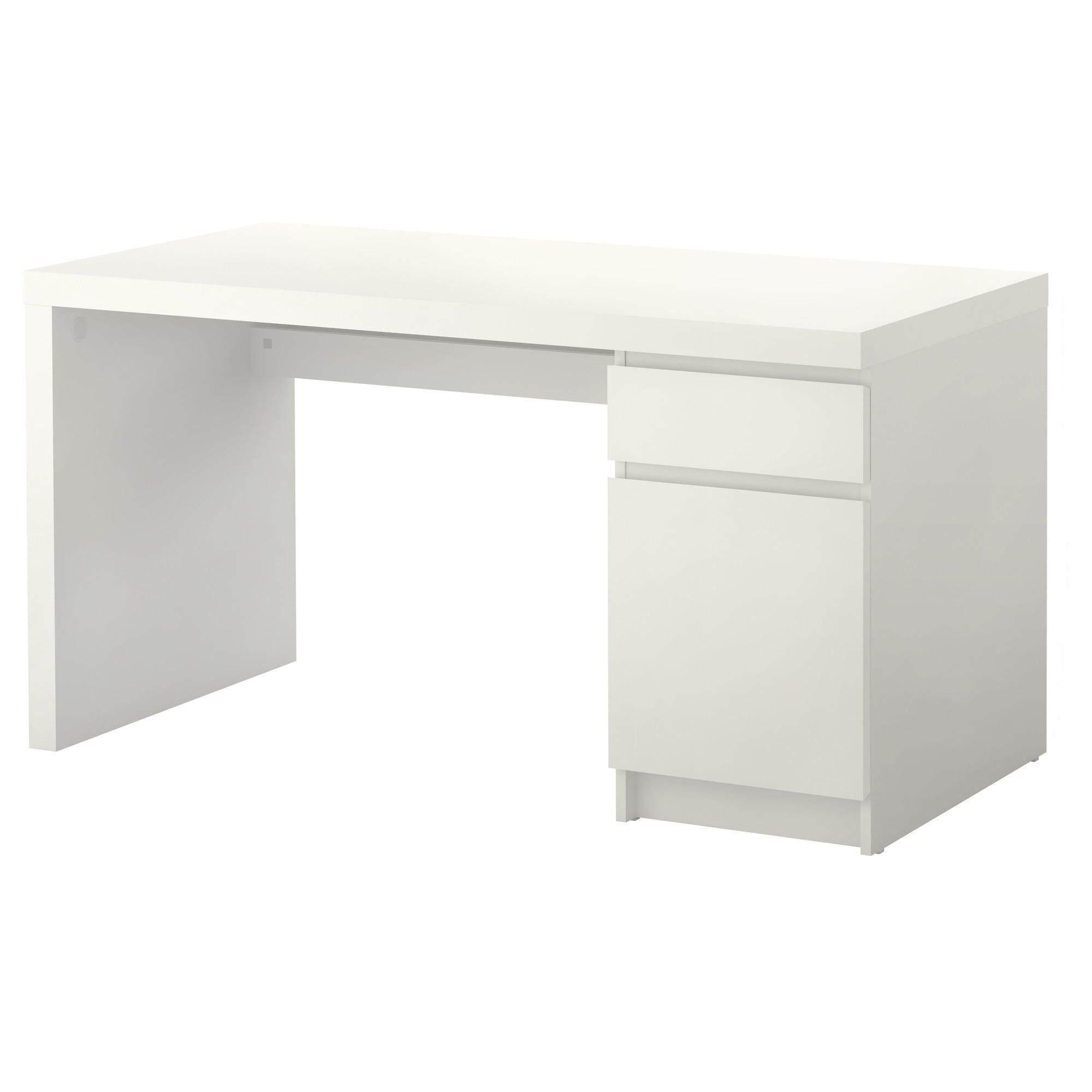 Malm Desk White 140x65 Cm