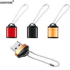 KEBETEME Đầu Đọc Thẻ USB2.0 Tốc Độ Cao Bộ Chuyển Đổi Thẻ TF USB Mini Dành Cho Thẻ Nhớ MicroSD Dành Cho Máy Tính PC Máy Tính Xách Tay Để Bàn Máy Tính Xách Tay