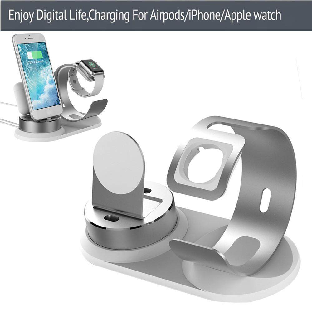 4 in1 Charging Dock Station Holder Stand For Apple Watch For AirPod For iPhone Malaysia