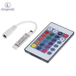 [miễn phí vận chuyển] 5-24V 24 Phím IR RGB Không Dây Điều Khiển Điều Khiển Từ Xa Cho Dải Đèn LED thumbnail