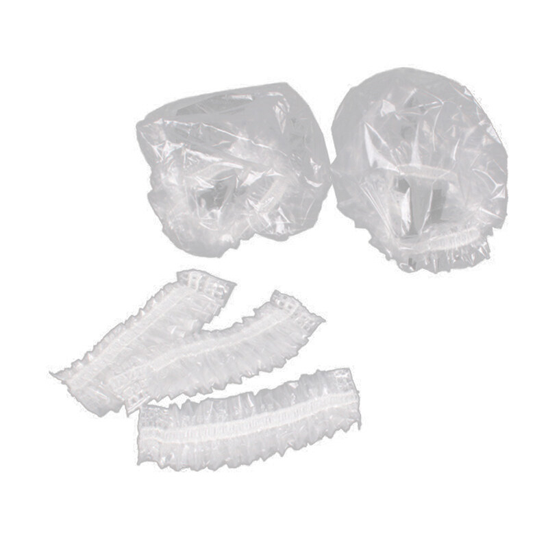 500Pcs Disposable Waterproof Ear Cover Transparent Bath Shower Hair Salon Earmuffs Hair Coloring Ear Protector Cover Cap giá rẻ