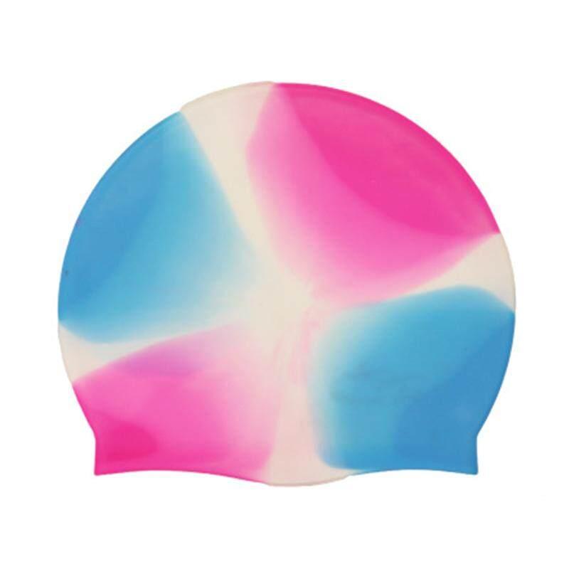 Swimming Cap Elasticity Hat Durable Wear-Resisting Unisex Silicone 18 Color Outdoor Sport Swim Accessories Prop Headgear